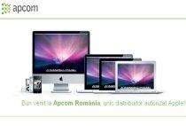 I.R.I.S. S.A., unicul distribuitor autorizat Apple în ţară, a devenit Apcom România