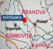 O cisternă cu dioxid de carbon s-a răsturnat în judeţul Prahova