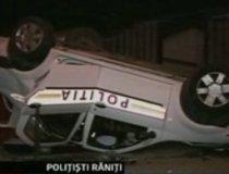 Infotrafic. Maşină de poliţie din Oradea, implicată într-un accident grav (VIDEO)