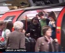 Grevă la metroul londonez. Transportul în subteran în capitala britanică, paralizat