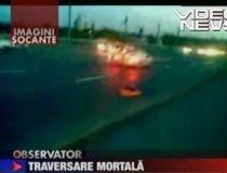 Rusia. Un bărbat, spulberat de maşini când traversa autostrada (IMAGINI ŞOCANTE)