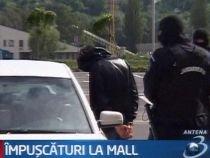 Focuri de armă în parcarea unui mall din Suceava