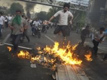 Proteste violente în Iran, după anunţarea rezultatelor alegerilor prezidenţiale (VIDEO)