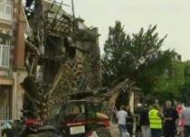 Belgia. Cinci oameni au fost răniţi, după ce o clădire s-a prăbuşit (VIDEO)