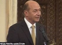 Traian Băsescu: Boala majoră a socieţăţii româneşti, felul defectuos în care funcţionează justiţia