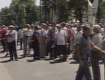 Şoseaua Kiseleff, blocată circa două ore din cauza unui protest spontan al revoluţionarilor (VIDEO)