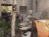 Bucureşti. Faţada unui bloc din Colentina a căzut (VIDEO)
