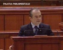Guvernul şi-a asumat răspunderea pe Codurile penal şi civil, în faţa Camerelor reunite