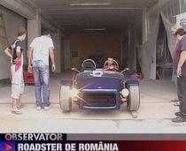 Patru studenţi au construit primul roadster românesc. Maşina atinge 100km/h în 5,8 secunde (VIDEO)