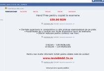 Metode de copiat la Bacalaureat, la discreţie pe internet
