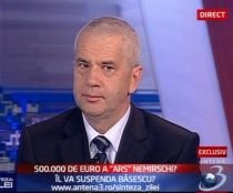 """Nemirschi, despre contractul cu ARS Advertising: """"Dacă s-ar fi făcut o nouă licitaţie s-ar fi pierdut timp"""""""