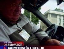 Taximetrist certat cu legea. După ce te încarcă la bani, te ameninţă cu bătaia (VIDEO)