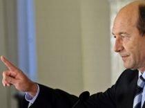 Traian Băsescu, de Ziua Drapelului la Miercurea Ciuc