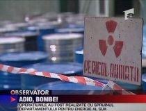 """România nu mai poate fabrica o bombă atomică. Ultima încărcătură de uraniu """"a plecat"""" în Rusia (VIDEO)"""
