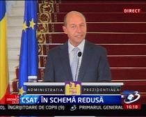 Traian Băsescu, după şedinţa CSAT: România şi-a încheiat misiunea în Irak