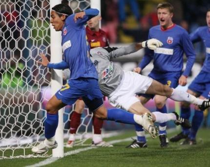 Dayro Moreno şi Ionuţ Rada, introduşi de Steaua pe lista UEFA pentru grupele Europa League