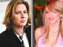Madonna s-a întâlnit cu Tzipi Livni, liderul opoziţiei israeliene (VIDEO)