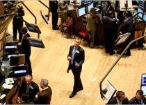 Wall Street cade două procente, preocupat de sănătatea sistemului bancar
