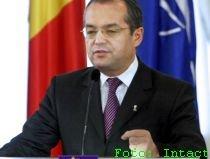 Scrisoarea de intenţie privind asumarea, trimisă de Boc la Parlament