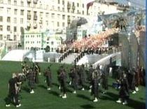 Efectele crizei, în Rusia: Ziua Moscovei, sărbătorită cu mai puţin fast decât în anii trecuţi (VIDEO)