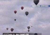 Cel mai mare festival de baloane cu aer cald se desfăşoară în Germania până pe 13 septembrie