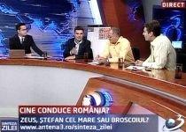 Sinteza Zilei. Candidează şi Băsescu şi Boc la prezidenţiale? Cine conduce România: Zeus, Ştefan cel Mare sau Broscoiul?