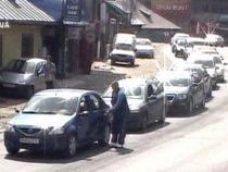 Trafic restricţionat pe DN1. Un şofer a murit după ce a intrat cu maşina pe contrasens