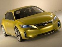 Lexus LF-Ch - primele imagini oficiale ale conceptului care va fi prezentat la Frankfurt (FOTO)