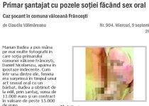 Soţia primarului, sex oral cu amantul. Edilul, şantajat cu pozele porno