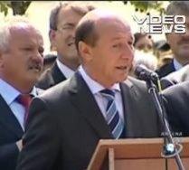 Băsescu, din nou înlăcrimat: S-a emoţionat când a vorbit despre fregatele române (VIDEO)
