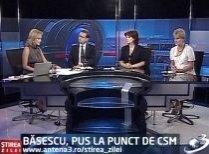Ştirea Zilei: Băsescu, pus la punct de CSM