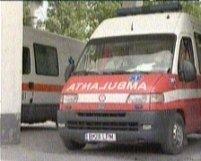 Braşov. O tânără şi copilul său, loviţi de ambulanţă pe trecerea de pietoni (VIDEO)