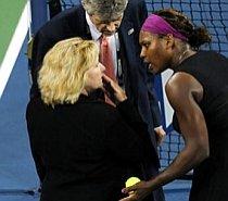 Serena Williams, descalificată la US Open (VIDEO)