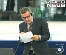 Gigi Becali, la primul discurs în Parlamentul European: A citit un text de 50 secunde (VIDEO)