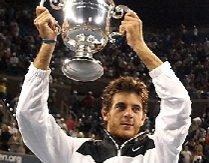 Juan Martin del Potro îl învinge pe Roger Federer şi câştigă primul US Open din carieră
