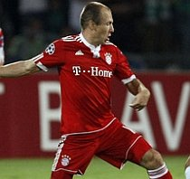 Maccabi Haifa-Bayern Munchen 0-3. Germanii ţinuţi la respect timp de o oră