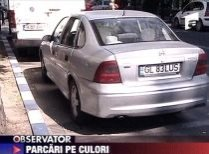 Parcări colorate în Capitală. Şoferii se vor ghida după culori pentru a găsi locurile de parcare disponibile