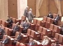 PNL şi UDMR depun prima moţiune de cenzură a Cabinetului Boc