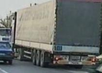 TIR încărcat cu gumă de mestecat şi condus de un şofer polonez, furat la Arad (VIDEO)