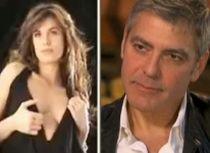George Clooney s-ar putea însura cu Elisabetta Canalis până la Crăciun