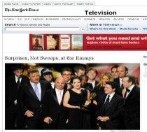 Mad Men şi 30 Rock, câştigătorii ediţiei din 2009 a premiilor Emmy