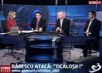 """Ştirea Zilei. Băsescu atacă: """"Ticăloşii!"""""""