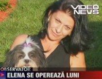 Aşteptarea a luat sfârşit. Elena Cârstea va fi operată luni (VIDEO)