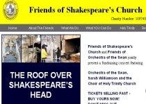 Biserica ce adăposteşte mormântul lui Shakespeare riscă să se prăbuşească