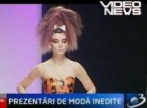 Creaţii inspirate din serialul Familia Flintstone, la Festivalul de Modă de la Londra (VIDEO)