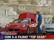 Imagini de la filmările echipei Top Gear, la Parlament (VIDEO)