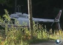 Jaf spectaculos, în Suedia: Hoţii au fugit cu elicopterul de la locul faptei (VIDEO)