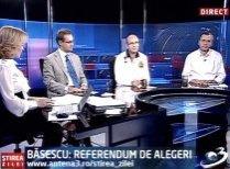 Ştirea Zilei. Băsescu: Referendum de alegeri