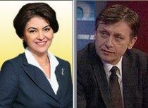 Crin Antonescu s-a căsătorit la Bruxelles cu europarlamentarul PNL Adina Vălean