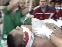 Bărbatul împuşcat de poliţiştii din Brăila a murit (VIDEO)